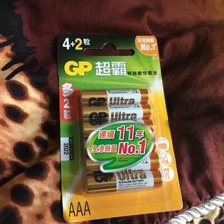 gp 超霸電池 battery 3A AAA