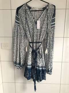 Indian Summer Co Sari Dress Boho style brand new