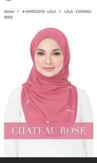Authentic Naelofar Lola hijab