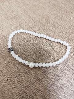 🚚 復古珍珠玫瑰小手鍊