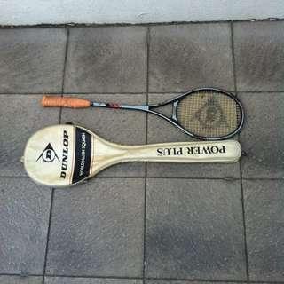Dunlop Powerplus squash racket