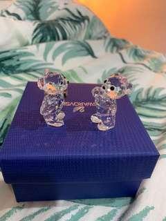 Swarovski Teddy Bear Set