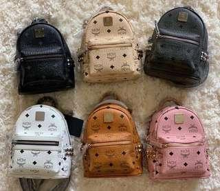 💯Ori MCM Mini Backpack