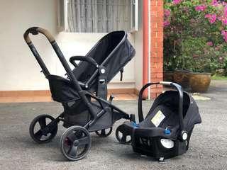 Mothercare Xpedior Babyseat & Stroller/Pram
