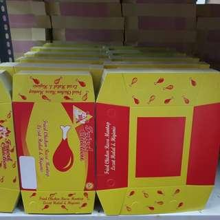 Kotak Nasi Fried Chicken Isi 100 Pcs