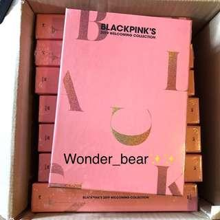🔥BLACKPINK's 2019 Welcoming Collection / Sealed, ready stock