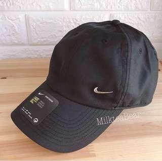 ⚠️特價🇺🇸🇬🇧直送 Nike Cap 金屬tick logo cap帽 黑色(100% New & Real)