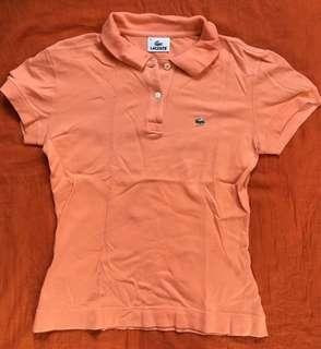 Authentic Lacoste Polo Shirt (Small)-repriced