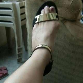 Party sandals (original price 2,300 bought in singapore