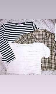 OBRAL TOPS GET ALL ONLY 30K
