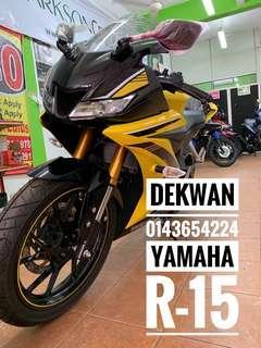 Yamaha R-15 Apply ic & Slip Gaji 1 Bulan