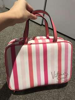 Victoria secret makeup storage bag