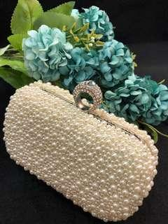 #B01 Bridal clutch/handbag