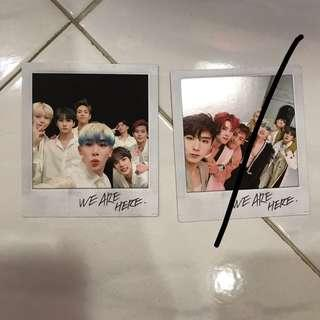 WTS / WTT Monsta X Take 2 We Are Here Group Polaroid