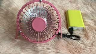 Mini USB Metal Fan