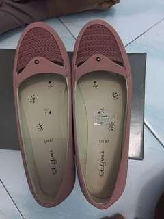 Flat shoes dusty pink st.yves