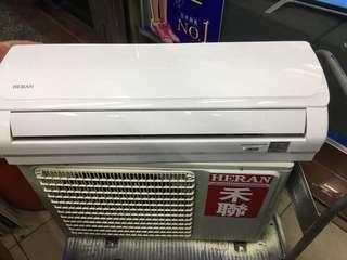 🚚 北部地區售禾聯heran ho-23pt r410 0.8噸分離式冷氣16年 極新狀況正常 可幫忙安裝 售後服務維修保養