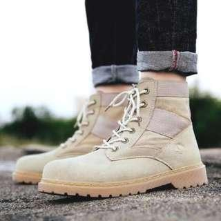 [NEW ][PO] PROMOTION FOR MONTH!!! NEW COOL HIGH CUT BOOTS!!! size 39-44 [ FOR GUY] PM TO DEAL !!
