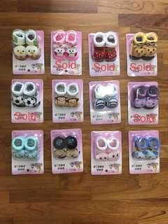 🚚 3D Baby Socks