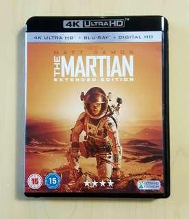 The Martian Extended Edition 4K UHD+Blu-ray