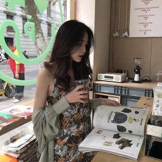 🚚 韓版碎花洋裝 #半價衣服市集