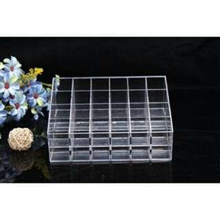 24 Grid acrylic organizer