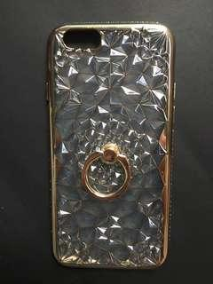 Iphone 6s Luxury dimensional case with ring socket