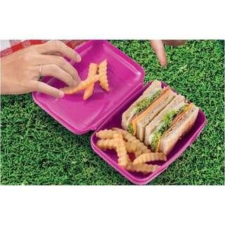 Tupperware Sandwich Keeper (Available in Blue And Pink)