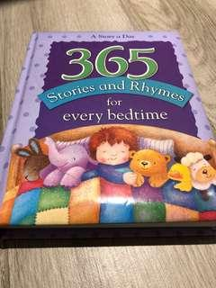 Children's Book 365 stories and rhymes