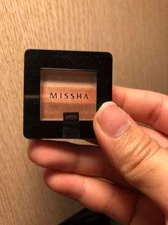 Missha三色眼影