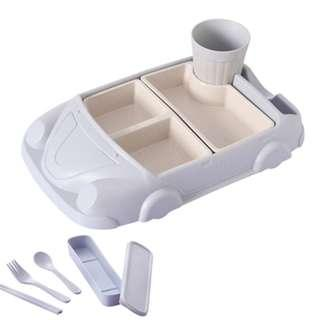 [NEW ITEMS ][PO] PROMOTION FOR MONTH !! PRETTY NICE CAR CUTLERY SHATTER-RESISTANT  SET FOR KIDS! HURRY GET IT NOW!!!