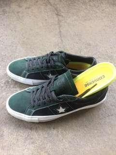 Converse one star pro suede ox deep emerald