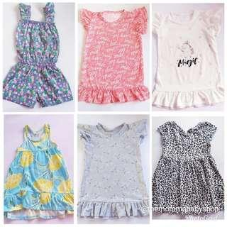 Take all for 399! 6pcs for 4T and below!