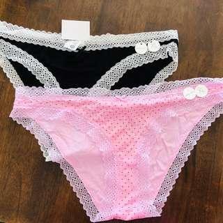 2x undies underwear size XL COTTON ON BODY RRP $12.95 each