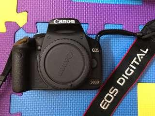 Canon 500D body only