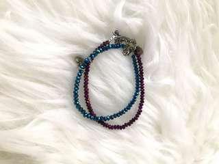 Blue Bracelet gelang