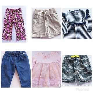 Take all for 299! 6pcs for 2T and below