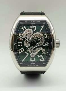 Franck Muller Vanguard Dragon King Limited Edition in Stainless Steel BNIB