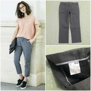 UNIQLO Cropped Pants (Gray JP 61)
