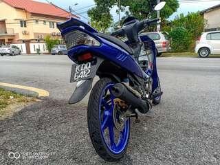 Yamaha 125Zr Biru Gp