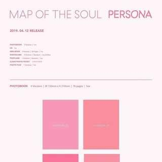 (PREORDER) BTS - Map of The Soul : PERSONA