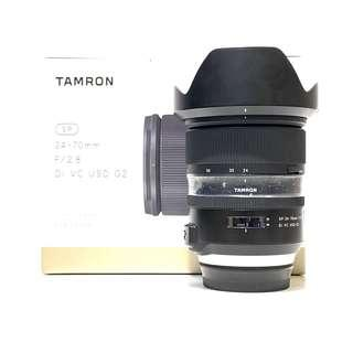 Tamron SP 24-70mm F2.8 Di VC USD Lens For Canon Mount ( Tamron Warranty until August 2020)