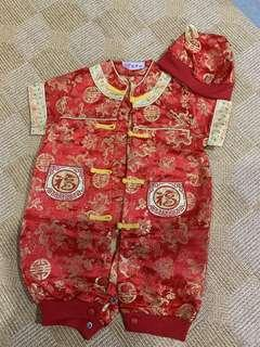 🚚 Baby Chinese New Year CNY romper