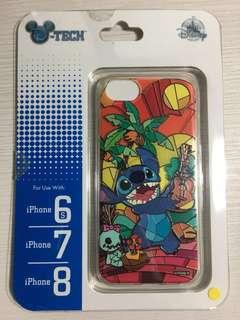 Casing Disney Ori 100% Stitch Stained Glass Iphone 6s, 7, 8