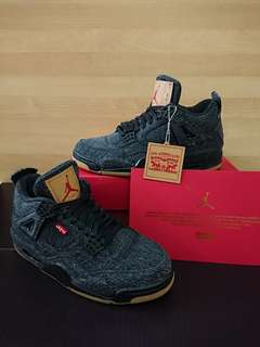 4011cc6150f NIKE AIR JORDAN 4 RETRO PALE CITRON, Men's Fashion, Footwear ...