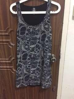 viva vena cava silk shift dress size s
