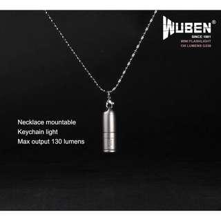 G338 WUBEN Mini flashlight (130 Lumens) Torch
