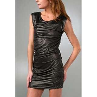 Iro Metallic Sheen Dress FR1