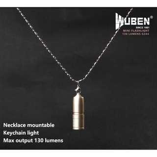 G344 WUBEN Mini flashlight (130 Lumens) Torch