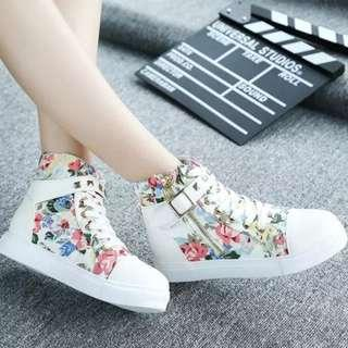 [NEW] [PO] PROMOTION FOR MONTH !!!  Super Pretty Cool HIgh Cut Shoes!